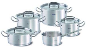 best professional cookware sets - Fissler Original Profi Collection Set - 9 Pieces