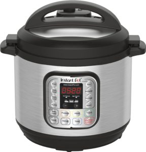 Instant Pot IP-DUO80 7-in-1 Programmable Electric Pressure Cooker, 8 Qt - top 5 pressure cooker reviews