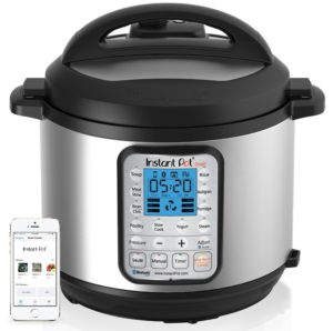 Instant Pot IP-Smart Bluetooth-Enabled Multifunctional Pressure Cooker, Stainless Steel - top 5 pressure cooker reviews