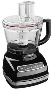 KitchenAid KFP1466OB 14-Cup Food Processor with Exact Slice System and Dicing Kit - Onyx Black