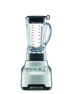 commercial blender features & reviews - Breville BBL910XL Boss Easy to Use Superblender, Silver