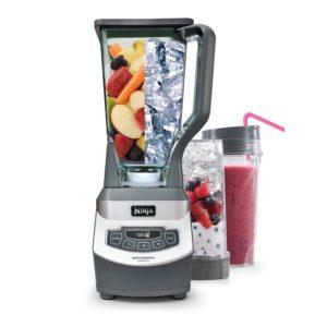 commercial blender features & reviews - Ninja Professional Blender & Nutri Ninja Cups (BL660)