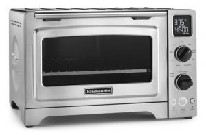 KitchenAid KCO273SS 12 inch Convection Bake Digital Countertop Oven - Stainless Steel