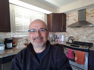 Tony Pic in Kitchen