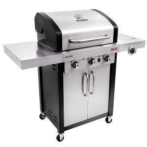 Best Gas Grills For the Money - Char-Broil Signature TRU-Infrared 420 3-Burner Cabinet Liquid Propane Gas Grill