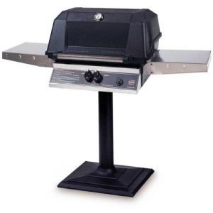 Gas Grills For The Money - Mhp Gas Grills Wnk4dd Natural Gas Grill With Searmagic Grids On Bolt Down Post