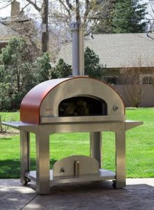outdoor pizza oven guide-metal oven