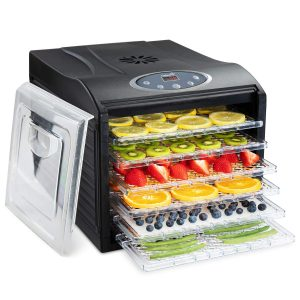 Ivation 6 Tray Countertop Digital Food Dehydrator